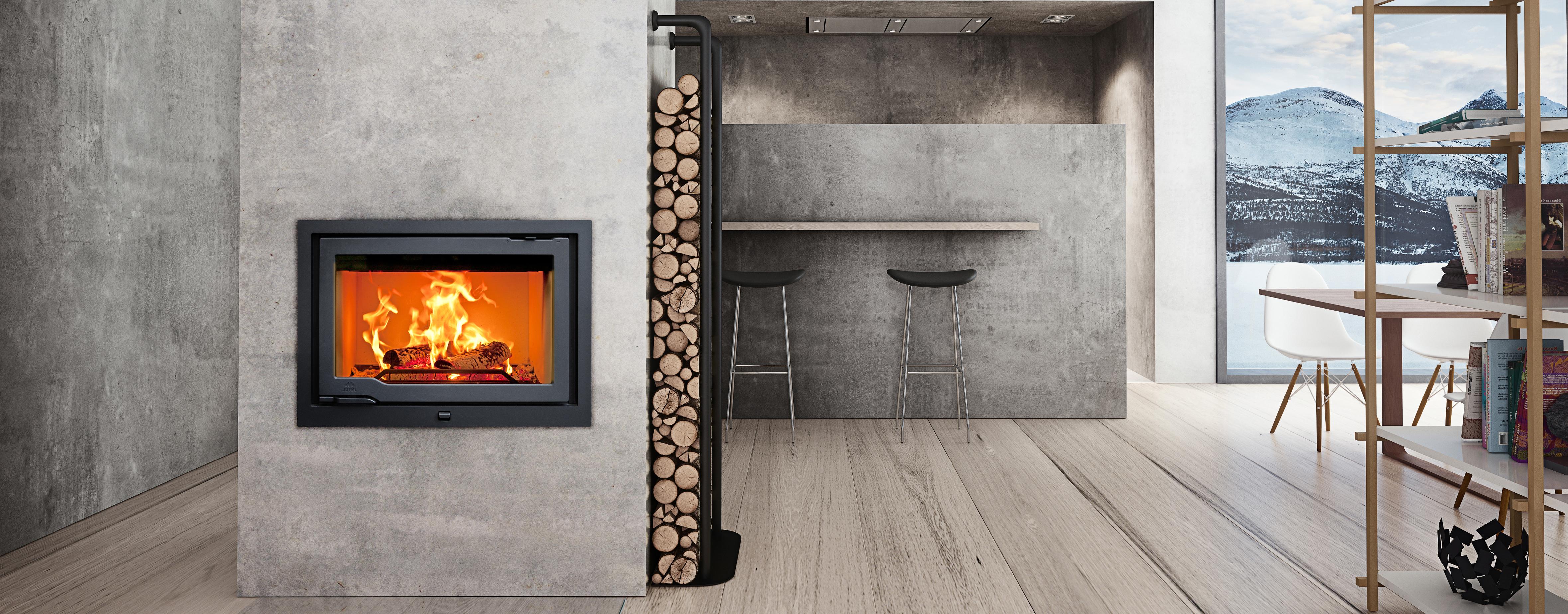 installazione e vendita inserto a legna Parma