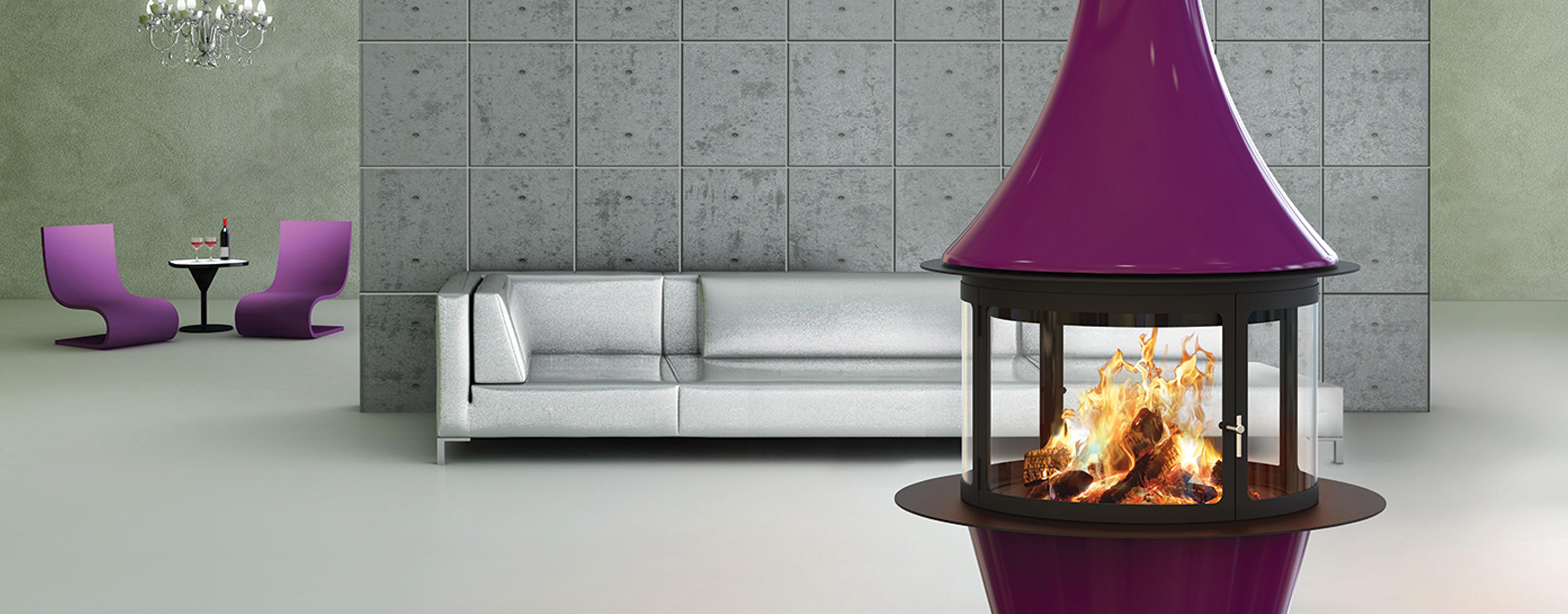 vendita e installazione camino a legna di design Parma